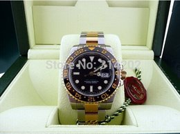 Box Certificate Luxury Watches Stainless Steel Bracelet 18k Gold Ceramic Bezel 116713 Automatic Men's Watches Wristwatches