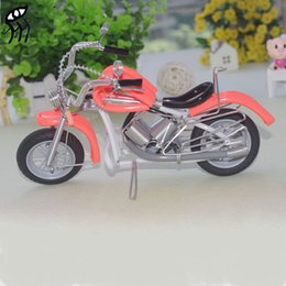 Wholesale Christmas gift Menino cm Creative Gift Handmade Aluminum Motorcycle Model Crafts Multicolor Souvenirs Baby Toy Cars