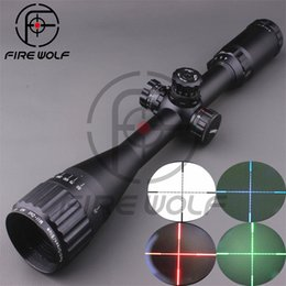 Wholesale LEAPERS UTG X40 Full Size AO Mil dot RGB Zero Locking Resetting Rifle Scope Hunting Scope mm ring mount