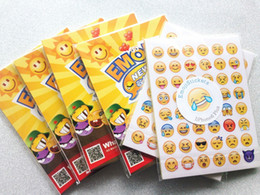 Wholesale Emoji Stickers Pack Instagram a stickers iPhone Instagram Lovely Cute Facial stikcers Emoji supplies
