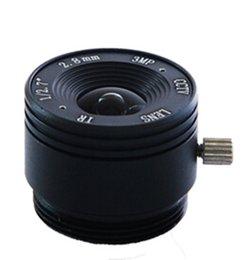 Promotion F1.8 Fixed Iris CCTV Camera Focal Length 2.8MM Board Lens China CS 3MP HD Camera Lens