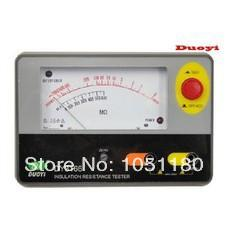 Wholesale DY3166 Analog Insulation Resistance Tester Genuine Analog Insulation Resistance Tester Megger V insulation resistance meter