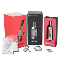 Top Quality Kanger Subtank Clearomizer Sub Ohm Atomizer Kanger Subtank Kanger BPDC Tank RBA Tank Kanger Subtank With Huge Smoke