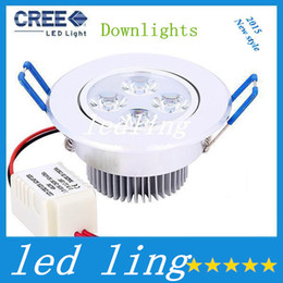 CREE Dimmable 12W Ceiling Downlight Epistar LED Ceiling Lamp 4x3W Recessed Spot Light AC110V for Home illumination Home Lighting