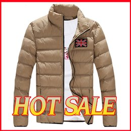 Wholesale Fall new people cotton blend hooded coat cotton padded jacket outer garments for men winter for men down jacket