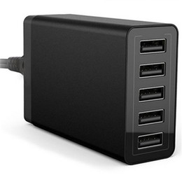 Wholesale Multi USB ports v wall Charger with USB port v a w support for PC mobile phone