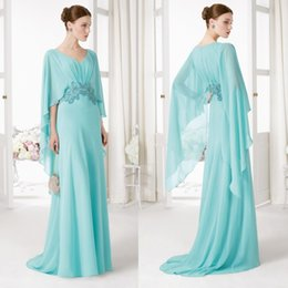 Wholesale Elegant Beads Mother Of The Bride Dresses V Neck Wedding Mother Dress For Bridal Aire Barcelon Sweep Train Spring Evening Prom Gown