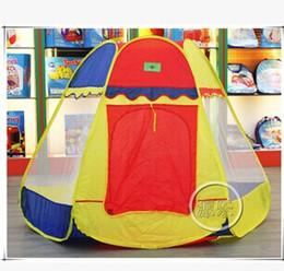 Nueva llegada Childern Yurts Amarillo YURTS tienda de niños ELEGANTE es 1.6m Pop Up House Kids juego de juego de los niños de la tienda de juguete Shippig libre desde cabrito casa tienda de campaña fabricantes