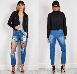 Women Autumn Short Black Jacket Women Long Sleeve Outerwear Coats 2018 Cool Winter Casual Open Stitch Women Coats FS3143