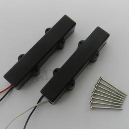 Wholesale Black String sealed Bass Guitar Neck and Bridge Pickup Set