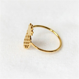 18K Gold Plated Cluster Rings for Women Fashion Cluster Rings Unique Design New Arrival for Sale16