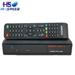 Wholesale 1pc Zgemma Star S Twin DVB S2 linux OS Digital Satellite Receiver Zgemma star S Support IPTV streaming server box