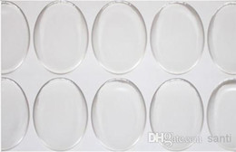 Wholesale 2000 clear mm oval epoxy sticker inch D crystal Bottle caps ellipse sticker