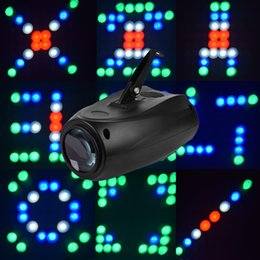 Wholesale MINI Disco led active Club Party laser Projector RGBW W LED Stage Effect Light DJ beam Lighting for DJ KTV