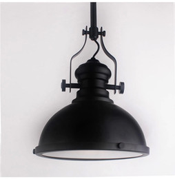 2016 New Antique wrought iron chandelier restaurant Cafe Retro creative head Jane European single staircase industrial lantern