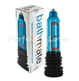 Wholesale Bath mate Hercules Pump Shower Strap With Instructions Penis Pump Enlargement Water Spa Penis Extender Like Proextender