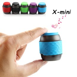Bluetooth Mini Speaker Little Cute Gadgets X MINI WE Updated X-Mini II Portable Speakers with Handle Cap Subwoofers for iPhone Samsung