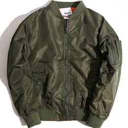 Fall- Big sam KANYE WEST YEEZUS tour MA1 pilot jackets men outdoor sport Bomber jacket baseball Windbreaker jacket 108