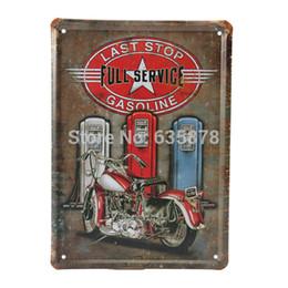 15 * 21CM Vintage Métal Mur Connectez-vous Moto Essence Decor Inscrivez Tin Bar Pub Garage Tin Sheet Art Decor Wall Plaque Affiche pour $ 18Personne piste arts sheet metal on sale à partir de feuille de métal arts fournisseurs