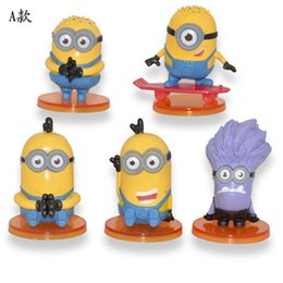 Wholesale ACG anime game The surrounding Simple packaging Despicable me God steal dads Yellow people Hand do Model doll