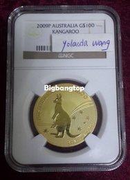 Wholesale 1509 Proof Australia Kangaroo k fine gold coin