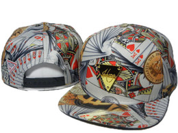 Wholesale HOT SELLING poker print Hater snapback hats online review hater snap back caps Hater Snapbacks Headwear Hats hat DD