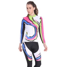 Wholesale-Long sleeve cycling wear mtb road mountain bike ciclismo breathable quick-dry bicycle jersey bike wear cycle clothing for women