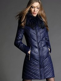 Wholesale-Hezi Nagymaros collar down jacket 2015new winter jacket and long sections thicker winter dress jacket coat parka casual women