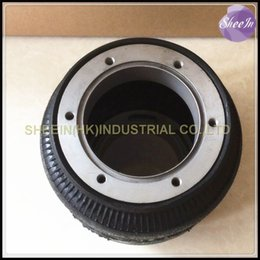 Wholesale Dia176mm SN176120BL1 H hollow single convolution air spring airbag shock absorber rubber airspring air suspension air bellows