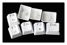 Wholesale-Brand New Backlight Mechanical Keyboard Black Switches White Backlit Greetech MX Switches White Mechanical Gaming Keyboard