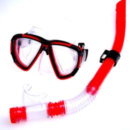 Natation costume sec en Ligne-Nouvelle arrivée Unisex Adultes hommes et femmes natation lunettes respirer tube semi-sec snorkeling costume natation lunettes étanche anti-buée