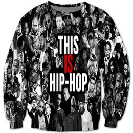 Wholesale This is Hip Hop Sweatshirt Ludacris Rihanna wiz khalifa Dr dre Snoop Doggy Dogg tupac pac d sweatshirt hoodies outerwear tops