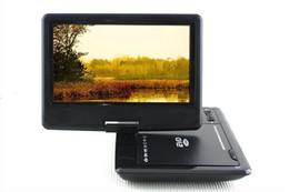 "New 9.8"" Portable EVD DVD Player TV USB SD Games JPG Picture Radio Swivel LCD Screen"