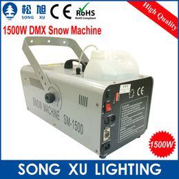 Wholesale W DMX Snow Machine Amazing Artificial snow maker snow equipment for stage SX SM1500A