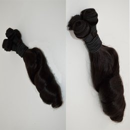cheap aunty funmi hair weaving best selling 3pcs lot bouncy curl funmi hair Peruvian virgin human hair wefts aunty funmi curl G-EASY