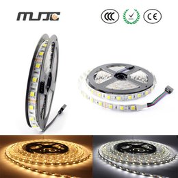 Hot sales newest products smd5025 dual white led strip lights 12VDC 60leds m led strips best decoration lights