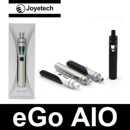 Kits de démarrage Joyetech eGo AIO Original Joyetech eGo AIO kit de démarrage rapide 2ml 1500mAh eGo AIO batterie avec eGO AIO embouchure vapeur à partir de commencer ego kit fournisseurs