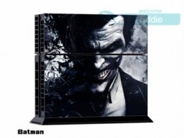 Wholesale Skin Sticker for Sony Playstation Console System For PS4 Dualshock Controller Batman Version