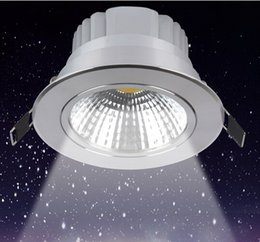 Wholesale price 10W 15W Dimmable COB Led Ceiling Downlight Warm white White Cool White Led Recessed Down Light AC 110-240V CE