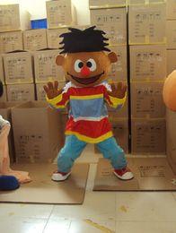 Boy Ernie Mascot Costume Halloween Party Fancy Dress Free Shipping