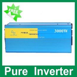 Wholesale 3000W puhdas aalto invertteri Supply W inverter pure sine wave inverter solar inverter car inverter