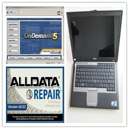 Wholesale 2017 alldata and mitchell software V10 alldata repair software mitchell in TB HDD Installed Well in GB D630 Laptop
