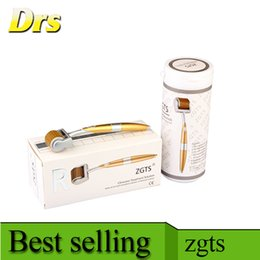 Derma roller ZGTS derma roller zgts titanium derma roller 192 with seamless design for home use beauty