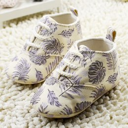 Wholesale New Products Toddler Baby Girls Casual Shoes Fashion Printed Shoes For Infant Soft soled Newborn First Walker Shoes Age K609