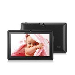 """Rk2928 comprimé pouce en Ligne-Gros-Livraison gratuite 7 """"RK2928 Dual Core 1.5GHz trois couleurs Q88 7 pouces Tablet PC 800 x 480 double caméra 2500mAh 8GB"""