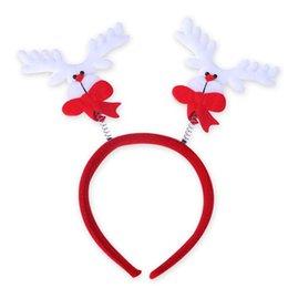 Wholesale Christmas Decorations Head Hoop Children s Party Headband Supplies Christmas Gifts articulos de navidad