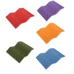 Wholesale Portable Foldable Folding Outdoor Camping Seat Foam XPE Waterproof Chair Cushion Mat Pad Colors Y0268