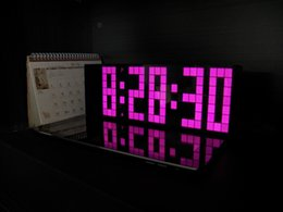 Wholesale Clock Newest Style CARMINE Jumbo Digital LED Wall Table Alarm Clock Night Light Electronic Despertador