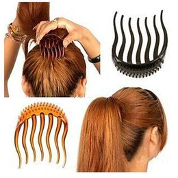 1Pcs Hair Clip For Ponytail Bouffant Styles Hair Comb Tool 8x6cm