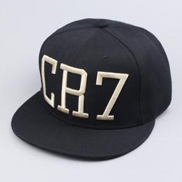 Wholesale-2015 New CR7 Black Gold Baseball Basketball caps hip hop Sports boy Snapback hats chapeu bone